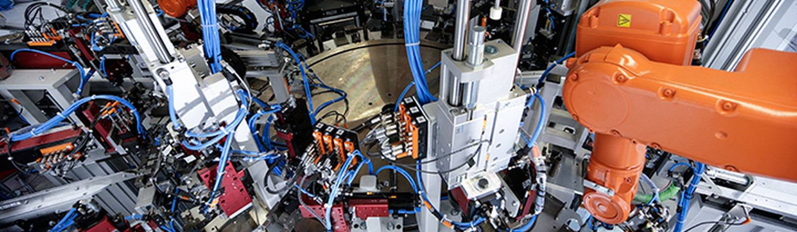 Výroba jednoúčelových strojů průmyslové automatizace